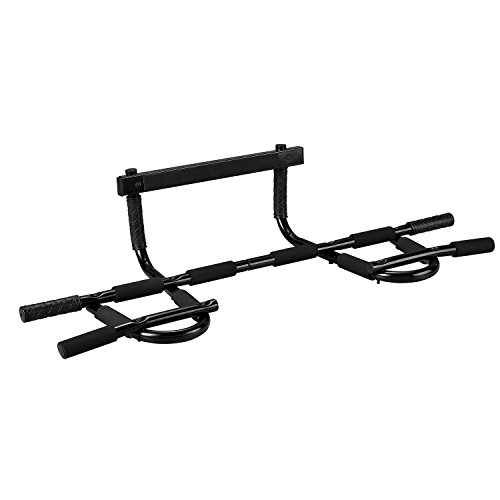 RELIFE REBUILD YOUR LIFE Multi-Grip Bar Heavy Duty Chin Up Pull Up Bar Doorway Trainer for Home Gym by RELIFE REBUILD YOUR LIFE