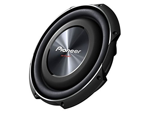 PIONEER TS-SW3002S4 12'' 1,500-Watt Shallow-Mount Subwoofer with Single 4ohm Voice Coil by PIONEER