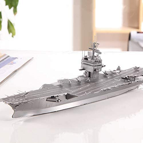 MQKZ Juego de Rompecabezas Tridimensional de Metal en 3D / USS ...