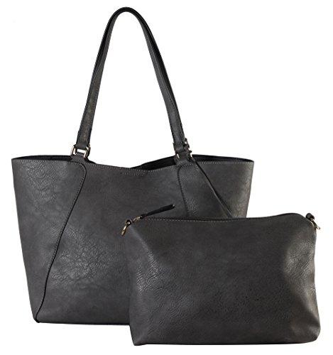 rimen-co-pu-leather-3-in-1-shoulder-bag-sd-3620-grey