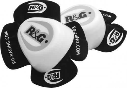 R&G Knee Sliders - White