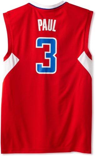 NBA Los Angeles Clippers Chris Paul Replica Basketball Jersey Red, Medium