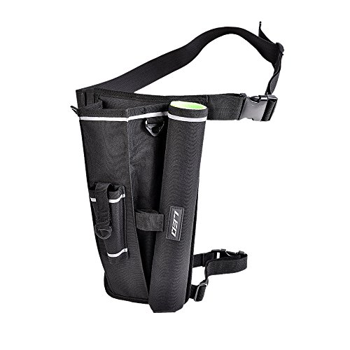 Lixada Fishing Rod Holder Bag Tackle Bag Case Drop Leg Thigh