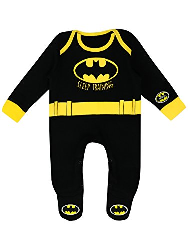Batman Baby Boys' DC Comics Footies Size 3-6M
