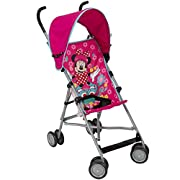 Disney Umbrella Stroller With Canopy - All About Minnie Pink Minnie Pattern