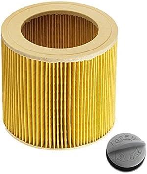 primes hop24 Cartuchos – Filtro para aspiradora en húmedo/seco ...