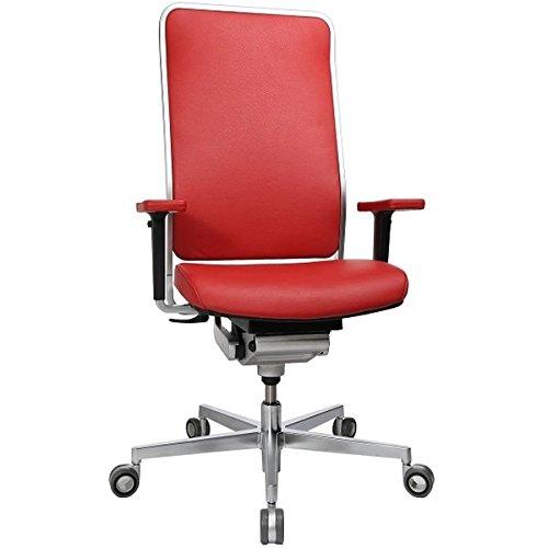 Wagner W1 Bürodrehstuhl - hoch / high | Ohne Armlehnen | BHX Netzbezug, 100 % Polyester | TBX Stoffbezug, 100 % Xtreme FR