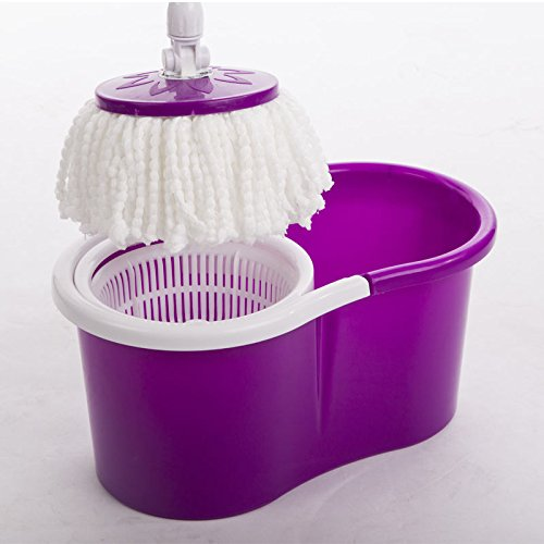 easy-magic-floor-mop-360-bucket-2-heads-microfiber-spin-rotating-head-new-22-purple