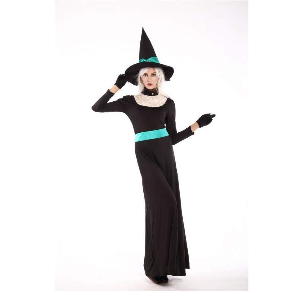 Shisky Cosplay kostüm Damen, Halloween Kostüm Masquerade Horror Erwachsene Erwachsene Horror Königin Kostüm Hexe Hexenkostüm 6c5a3f
