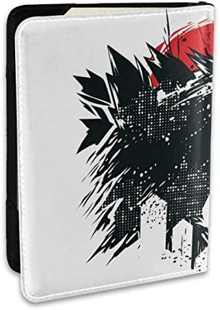 Godzilla Logo ゴジラ モンスター ロゴ パスポートケース パスポートカバー メンズ レディース パスポートバッグ ポーチ 収納カバー PUレザー 多機能収納ポケット 収納抜群 携帯便利 海外旅行 出張 クレジットカード 大容量