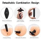 Rechargeable Vibrating Stimulator Plug 9
