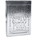 Theory 11 Silver Steampunk Playing Cards (3.5 x 2.5-Inch)