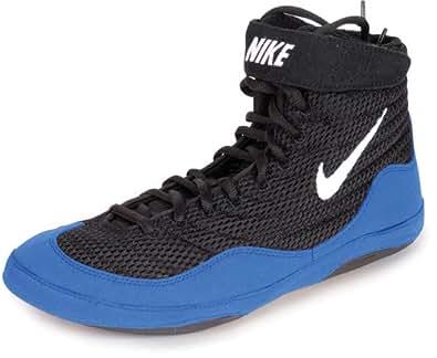 Amazon Com Nike Mens Inflict Wrestling Shoe Black Sport