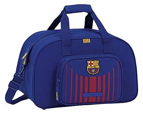 Safta Bolsa De Deporte F.C. Barcelona 17 18 Oficial 400x230x240mm   Amazon.es  Equipaje d9ac9238905