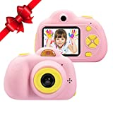 FarWarm Kids Camera Gift for 3-10 Years Old Boys/Girls, Shockproof Cameras with Front Camera Video...