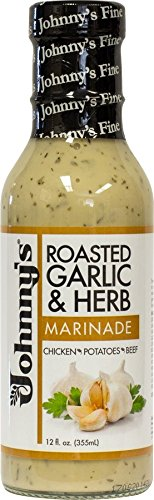 Johnny's Roasted Garlic & Herb Marinade & Wing Sauce, 12 oz (354ml)