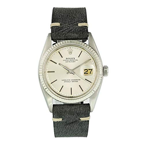 Rolex Datejust Automatic-self-Wind Male Watch 1601 (Certified Pre-Owned) (Rolex Pre Owned Watches)