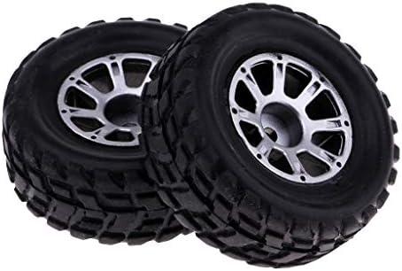 2個 RCカータイヤ ホイールバブ RCカーパーツ 1/18 WLtoys A949適用