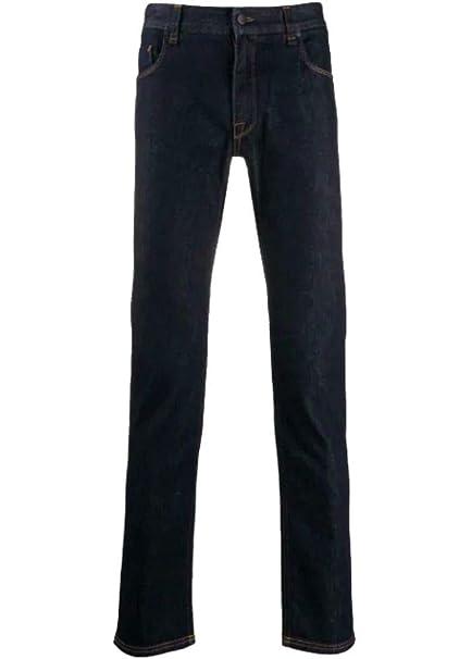 low priced 86745 00e57 Fendi Jeans Uomo FLP201A4QEF0QG0 Cotone Blu: Amazon.it ...