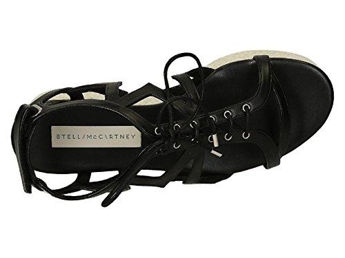 STELLA MCCARTNEY FEMME 381937W0YG01000 NOIR CUIR ARTIFICIELLE CHAUSSURES COMPENSÉES