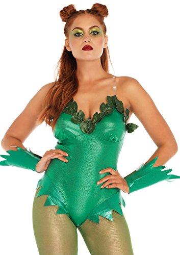 Leg Avenue Women's Sexy Pretty Poison Costume, Green, Small ()
