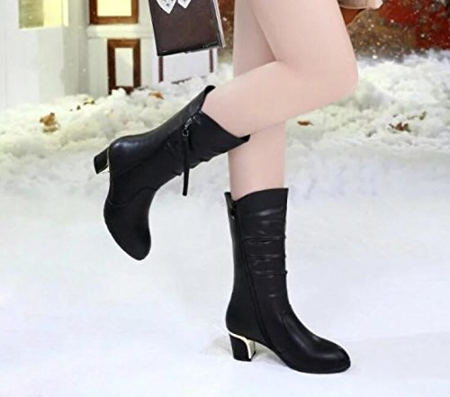 KHSKX-New Shoes New Winter Boots Boots Boots In Women With Female Boots With Thick Thirty-five
