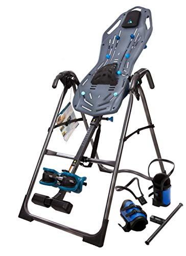 Teeter FitSpine X1 Sport Inversion Table, 2019 Model, Gravity Boots, Back Pain Relief Kit, FDA-Registered
