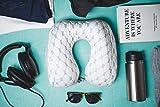 Gel Memory Foam Luxury Travel Pillow with