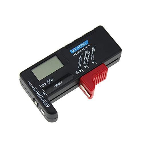 comprobador de bater/ía multifuncional de 12//24 V con 6 luces LED Comprobador de alternador para herramienta de prueba de diagn/óstico de generador de motocicleta Yctze Comprobador de bater/ía