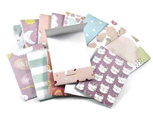 20 Mini Notepad Matchbook Sized Party Favors in Dreamland ()
