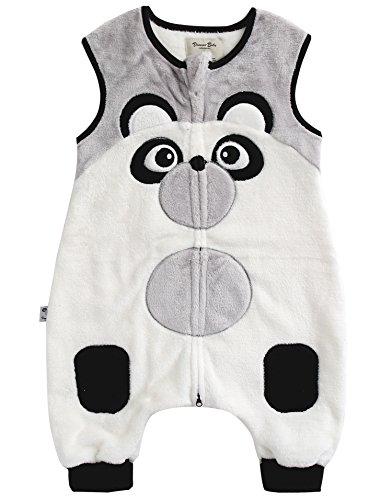 Vaenait baby 1-7Y Ultra Soft Plush Fleece Kids Boys Wearable Blanket Sleeper Zoozoo Pang L (Patterns Fleece Blankets)