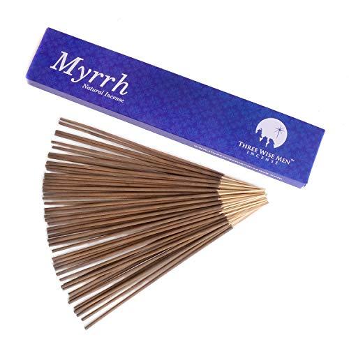 Three Wise Men All Natural Traditional Wood Incense Sticks - Myrrh