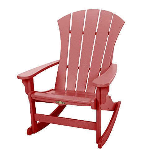 Original Pawleys Island SRAR1RD Durawood Sunrise Adirondack Chair, Red