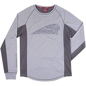 Victory Motorcycle New OEM Men/'s Grey Long Sleeve Hoodie Shirt Pick Size