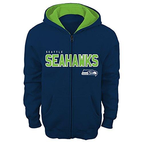Seattle Seahawks Nfl Hoody (NFL Youth Boys 8-20  Seattle  SEAHAWKS