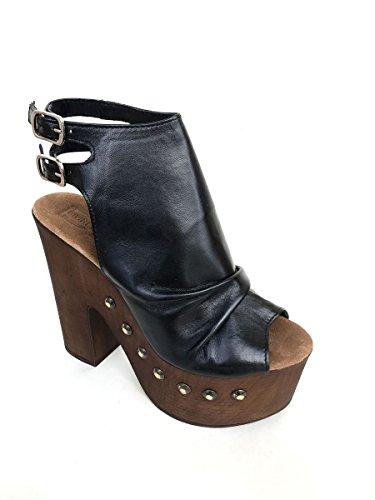 Divines Noir Sandales Femmes De Follie Mode Sandales De xIUq6Z