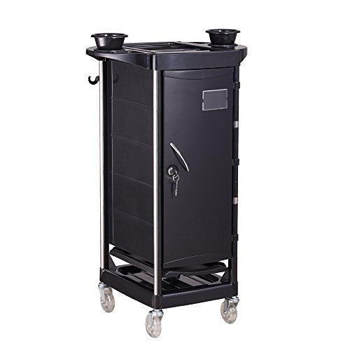 BEAUTY SALON HAIR COLORING CART TROLLEY CART ROLLING STORAGE CART STATION – ESKEARNE
