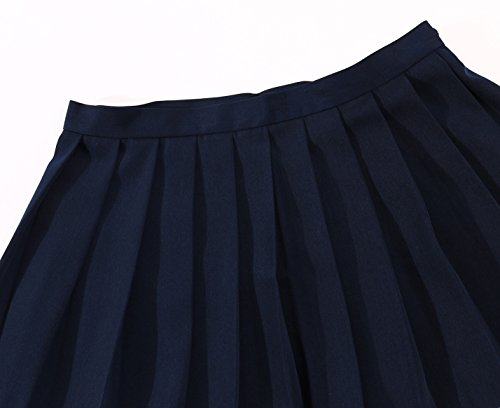 Girls`s School Uniform Pleated Short Skirts by Beautifulfashionlife (Image #1)