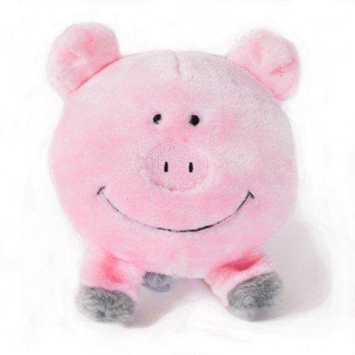 ZippyPaws Brainey Pig – Squeaky Plush Dog Toy, My Pet Supplies