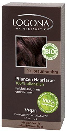 Logona Herbal Hair Color Brown Umber, 3.5 Ounce
