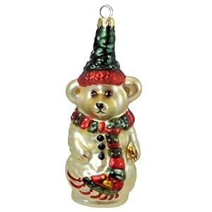 Boyds Bears Resin Olaf Ornament Christmas Snowman - Glass 6.50 IN