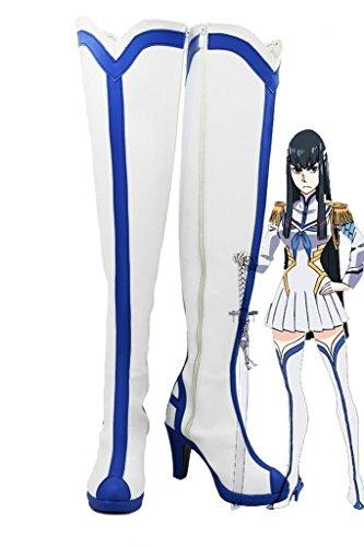 KILL la KILL Satsuki Kiryuin Cosplay Shoes Boots Custom Made RKLpum4