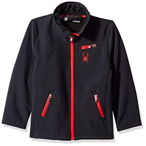 Spyder Big Boys' Softshell Jacket, Racing Red, M
