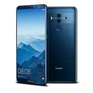Huawei Mate 10 Pro (BLA-L29) 6GB / 128GB 6.0-inches LTE Dual SIM Factory Unlocked - International Stock No Warranty Midnight Blue