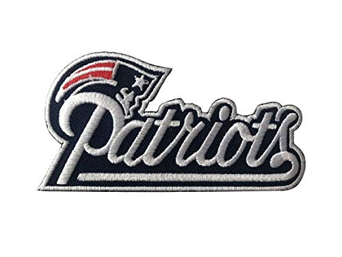 New England Patriots~Iron On NFL Logo~ Embroidered Patch~ from USA~