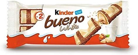 Kinder Bueno White - Barra de chocolate 19,5 g: Amazon.es ...