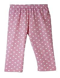 Wholesale Princess Pink Polka Dot Cotton Capris