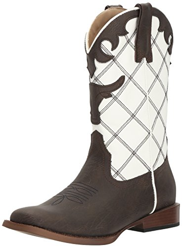 ROPER Baby Steerhead, Brown, 6 M US Toddler