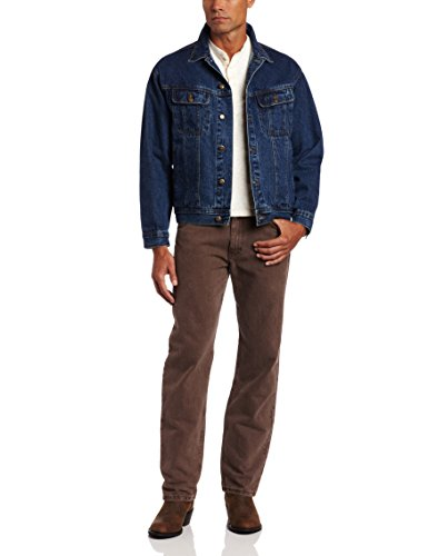 Wrangler Men's Rugged Wear Unlined Denim Jacket,Antique Indigo,3XL ()