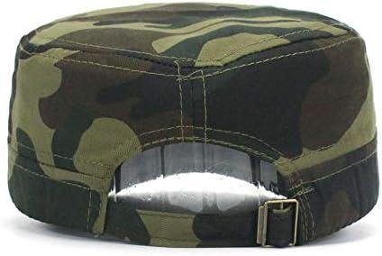 HUOLIMAO Gorra Militar del Ejército Sombrero para Hombre Mujer ...